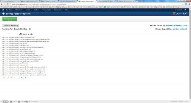 The Sitemap Demo For Joomla